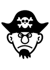 Coloring pages pirate