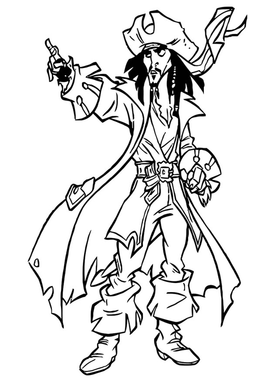 Coloring Page Pirates Of The Caribbean - Free Printable Coloring Pages -  Img 20754