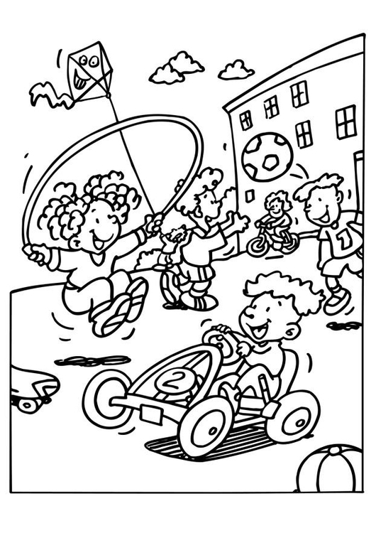 Coloring pages recess ~ Coloring Page playground - free printable coloring pages