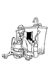 Coloring pages plumber