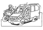 Coloring pages policemen