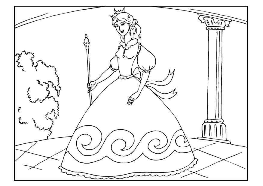 Coloring Page Princess Img 22654 Images