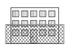 Coloring pages prison