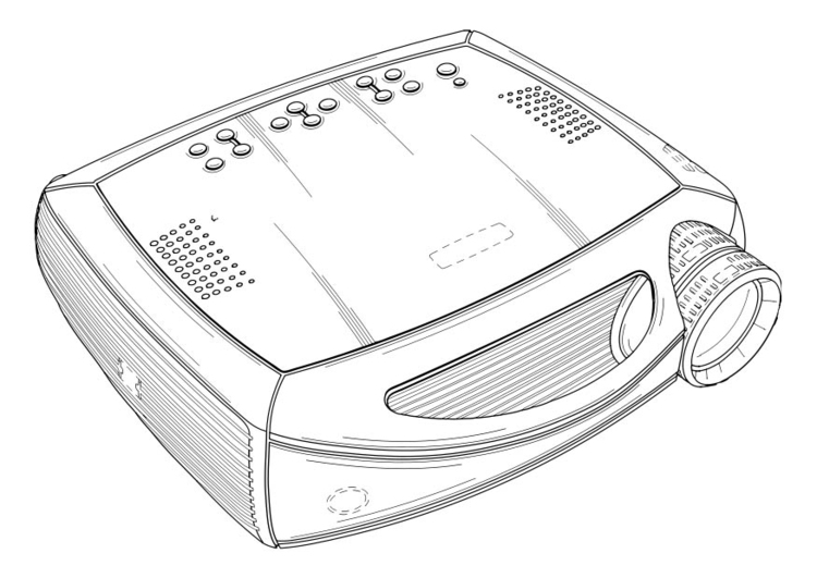 Coloring page Projector
