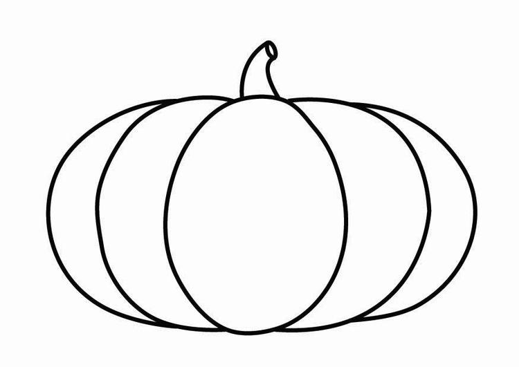 Coloring page pumpkin - img 26868.