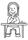 Coloring pages pupil
