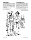 Coloring page Quebec militia