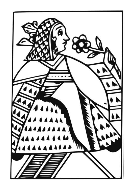 Coloring Page Queen Free Printable Coloring Pages