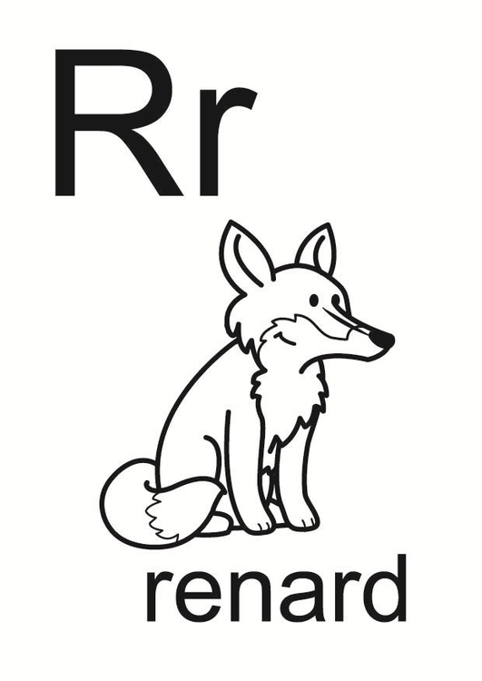 Coloring page r