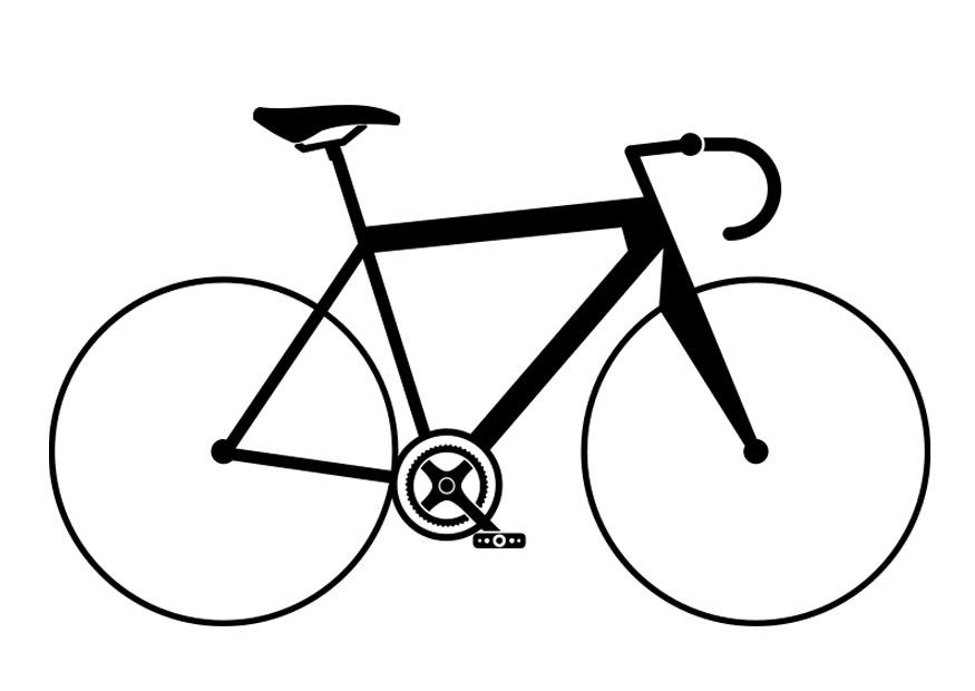 bike racing coloring pages - photo#29