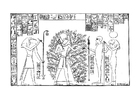 Coloring pages Ramses and the tree of life