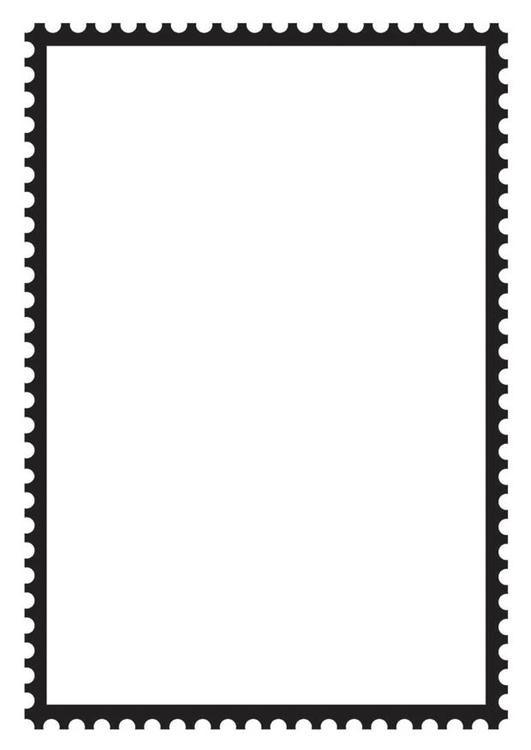 Rectangular Postage Stamp