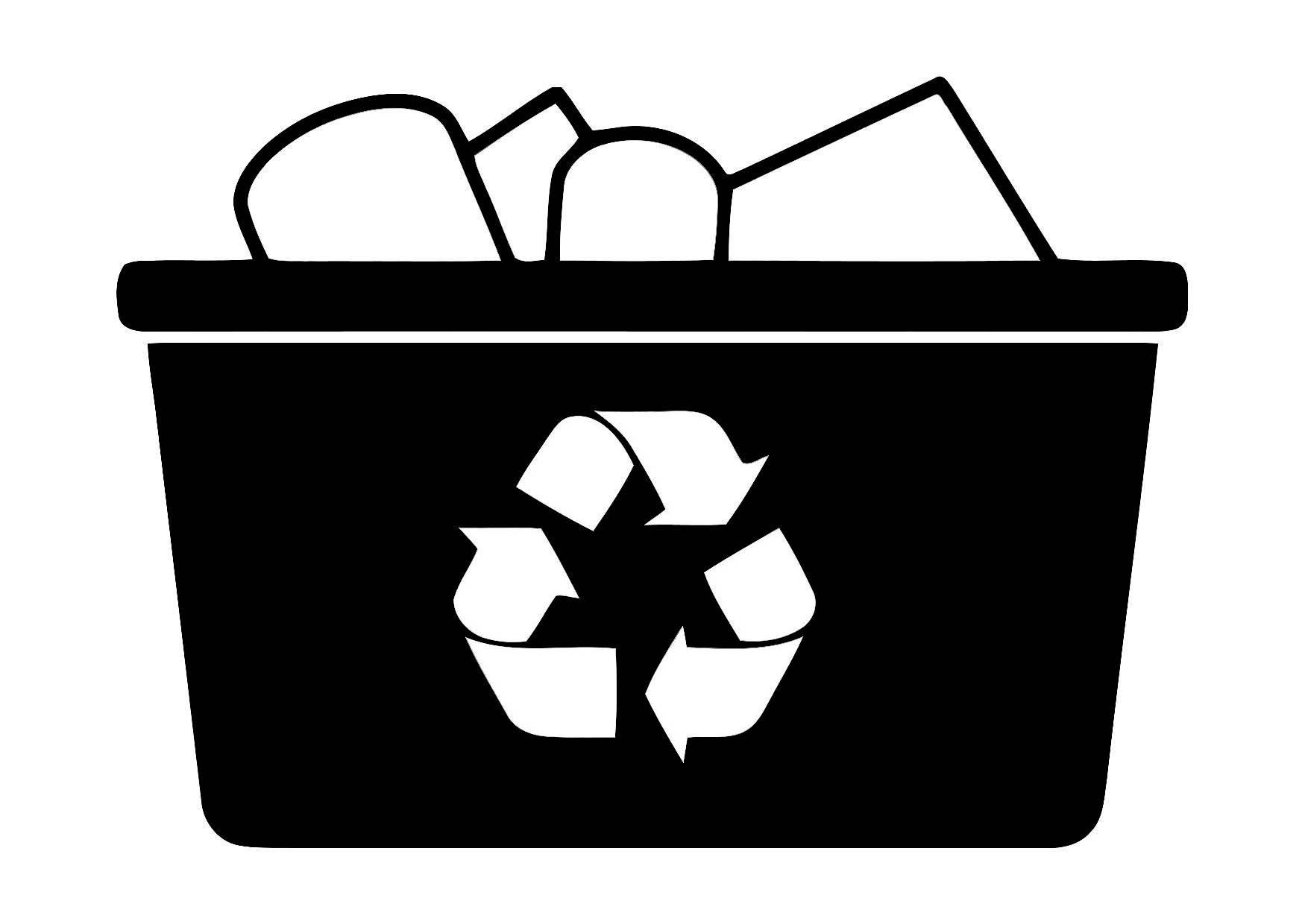 Coloring page recycle - img 11351.