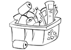 Coloring pages recycle