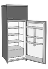Coloring pages refrigerator