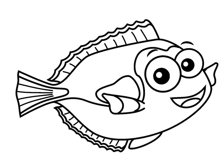 Coloring page regal tang