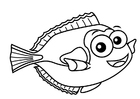Coloring pages regal tang