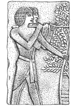 Coloring page relief - Egypt