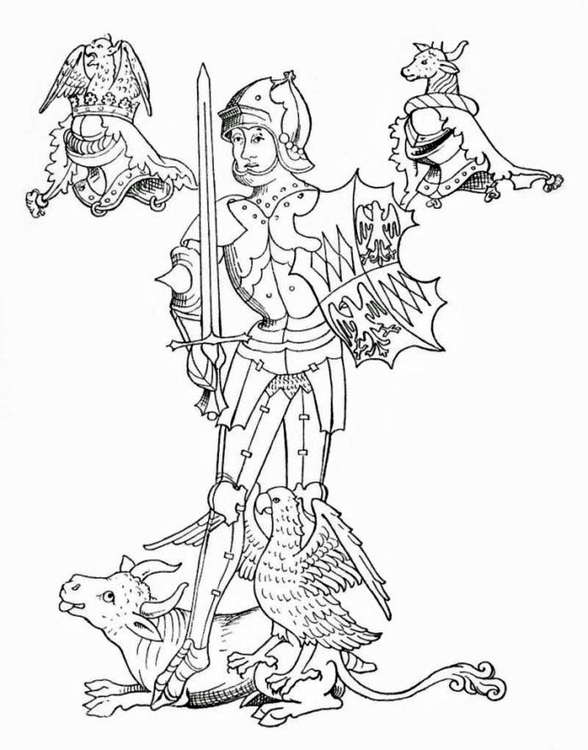 Coloring page Richard Neville, Earl of Warwick