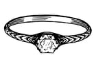 Coloring pages ring