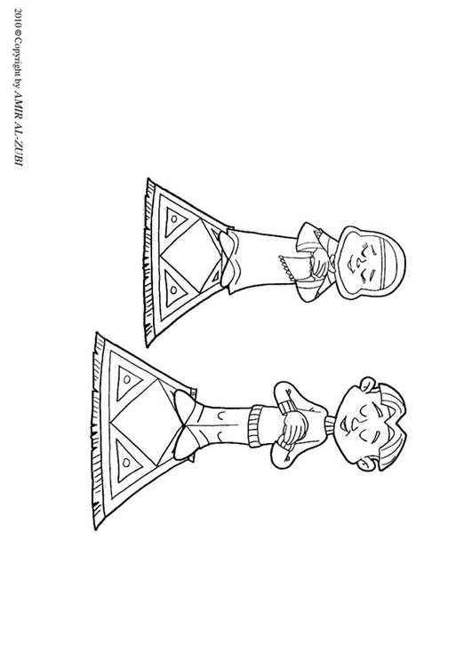Prayer Coloring Page For Kids