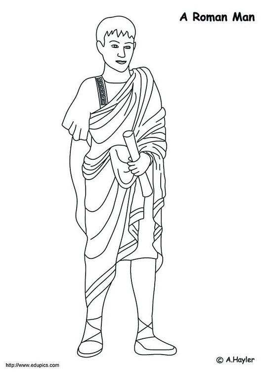 ancient-rome-roman-soldier-with-shield-sword-coloring-page ... | 750x530