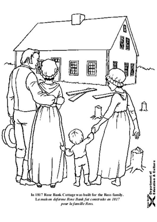 Coloring page Ross Farm