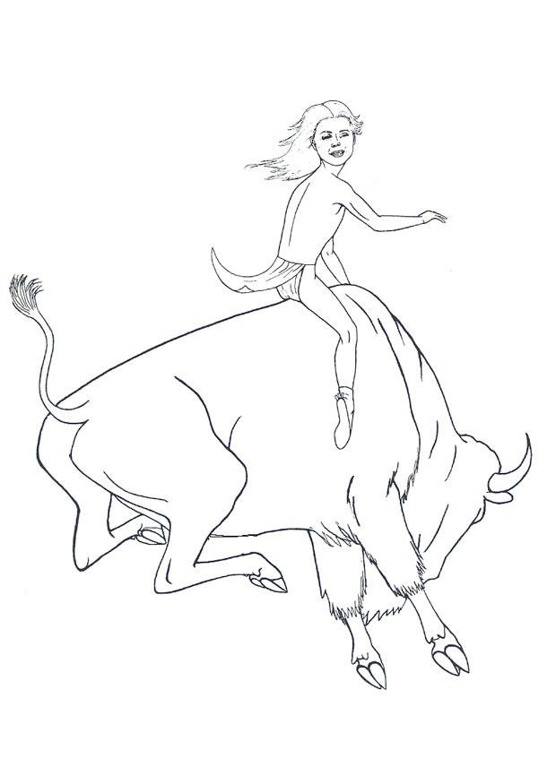 Coloring Page Rounding Up Buffalo Img 18254 Images