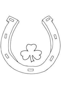 Coloring page Saint Patrick's Day