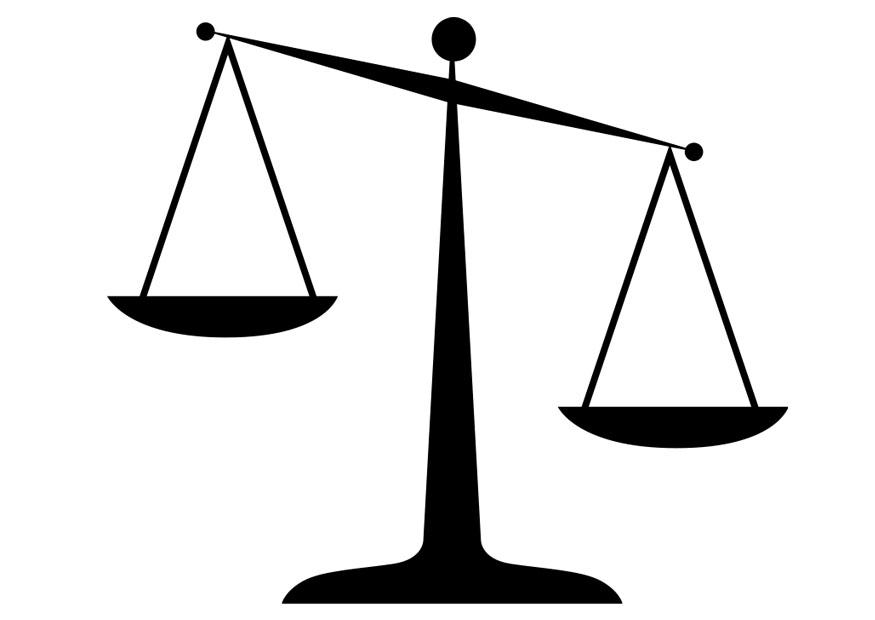 Coloring Page Scales Img 28359 - Balance-scale-coloring-page