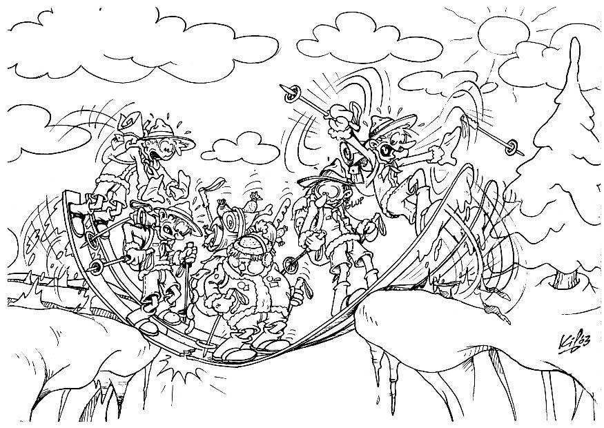 coloring page scouts winter camping 3 img 8732