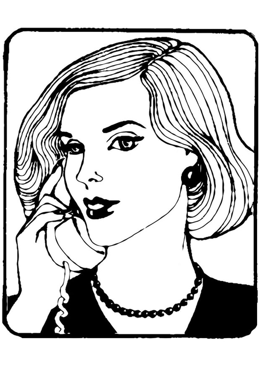 coloring pages of secretaries - photo#21