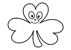 Coloring pages shamrock