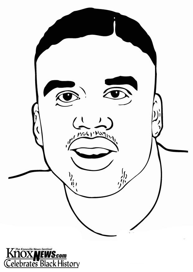 Coloring Page Shaquille O Neil Img 12886