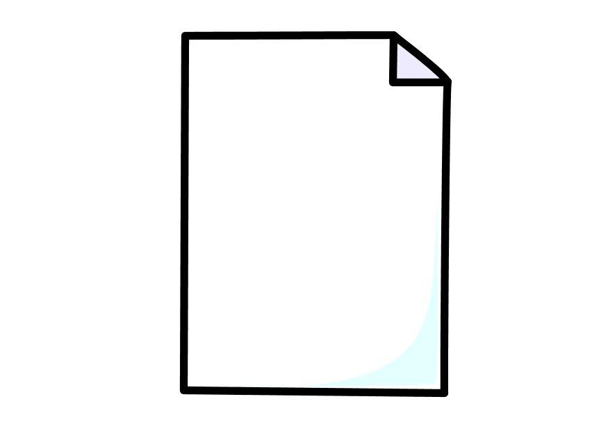 Coloring page sheet of paper - img 10263.