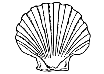 Coloring page shell