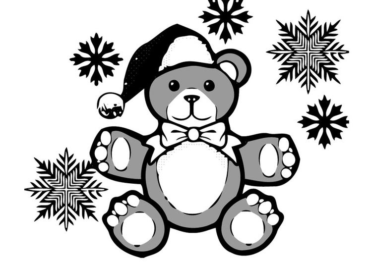 Coloring page Small Bear