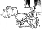 Coloring pages snake charmer