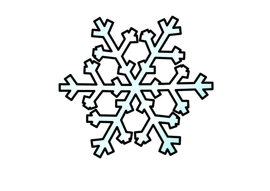 Coloring Page Snowflake Img 10356