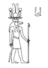 Coloring pages Sobek