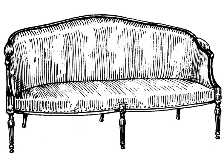 sofa coloring pages - photo#48