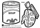 Coloring pages soup