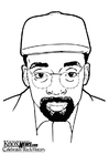 Coloring page Spike Lee