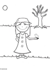 Coloring pages Spring