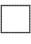 Coloring pages Square Postage Stamp