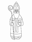 Coloring pages St Nicholas