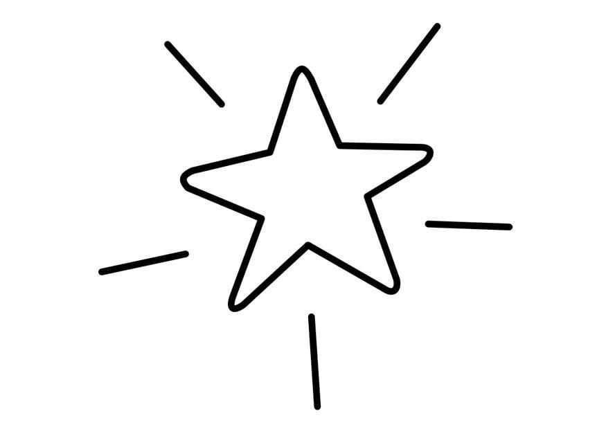 Coloring Page Stars - Eskayalitim
