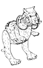 Coloring page Star Wars - Tauntaun