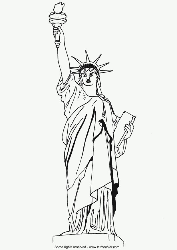 Coloring Page Statue Of Liberty - Free Printable Coloring Pages - Img 9790