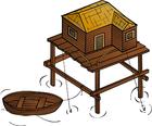Image stilt house